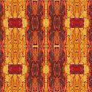 leaf collage version b by H J Field