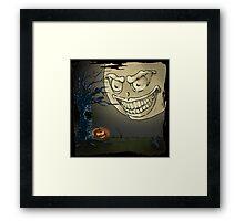 Spooky Time Framed Print