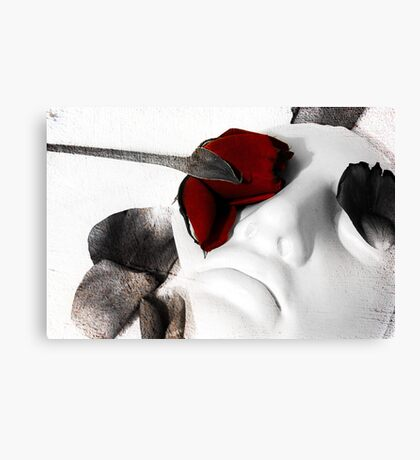 Cover My Eyes Canvas Print