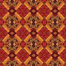 leaf collage version c by H J Field