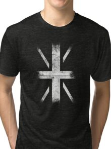UnionSide - Punk [WHITE] Tri-blend T-Shirt