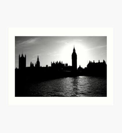 Westminister Art Print