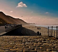 Saltburn Beach by robbtate