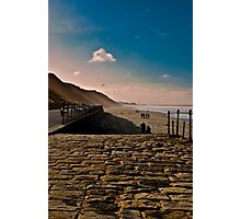 Saltburn Beach Photographic Print