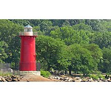 Little Red Lighthouse, NYC Photographic Print
