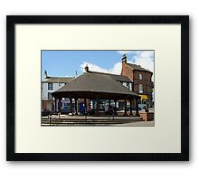 Penrith Market Cross Framed Print