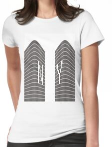 World Trade Center Womens Fitted T-Shirt