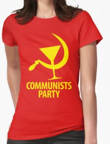 Communists Party Womens Fitted T-Shirt