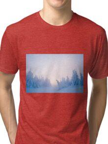 Twilight Snow Tri-blend T-Shirt
