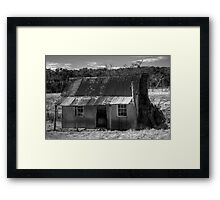 Old Australian Shack Framed Print