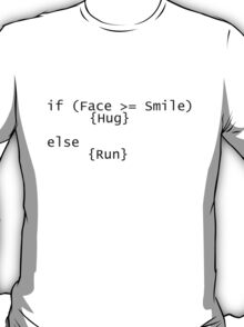 Code for Hugs T-Shirt