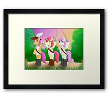 The Three Musketeers! Framed Print