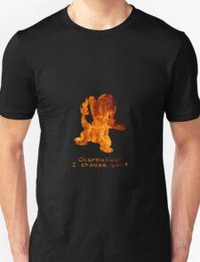 Flaming Charmander  T-Shirt
