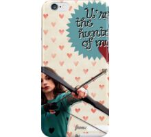 Hunter of my heart iPhone Case/Skin