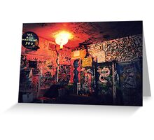 Mars Bar - New York City Greeting Card