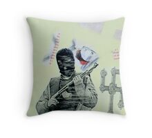 Mother of God one Throw Pillow