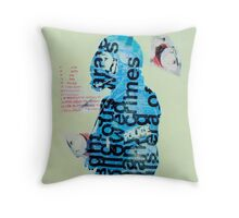 Mother of God three Throw Pillow