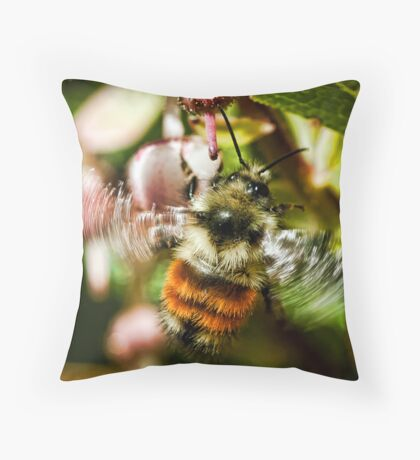The World of Bees Throw Pillow