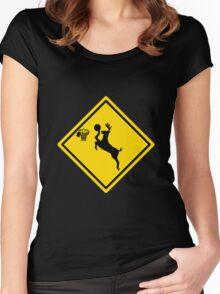 Deer Dunk Women's Fitted Scoop T-Shirt