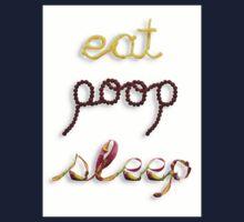 Eat, Poop, Sleep Kids Tee
