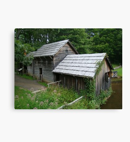 Mabry Mill - Backside ~ Canvas Print