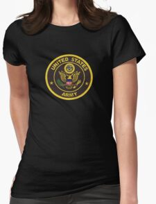 Army Retired Womens Fitted T-Shirt