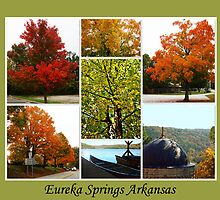 Fall in Eureka Springs Arkansas by kindser