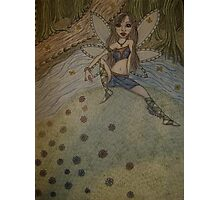 Forest Fairy Photographic Print