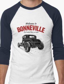 Fastest Place on Earth 2  Men's Baseball ¾ T-Shirt