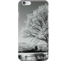 Ice and Snow......in Black and White...??!! iPhone Case/Skin