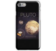 Planet Pluto Infographic NASA iPhone Case/Skin