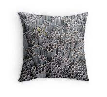 Pipe Ends ~ pillow collection Throw Pillow
