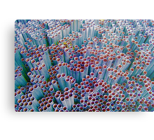 Pipes into Bubbles ~ pillow collection Metal Print