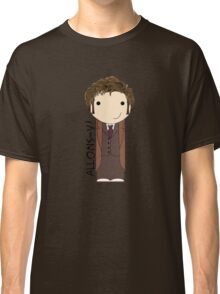 Tenth Doctor Doctor Who kokeshi doll Classic T-Shirt