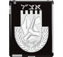Irgun Tzvai-Leumi (Etzel or Irgun) Logo for Black iPad Case/Skin