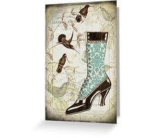 Lady's Laces Greeting Card