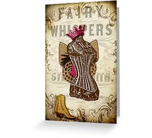 Fairy Godmother's Boudoir Greeting Card