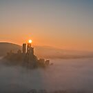 Corfe Castle, Dorset by andrewfoster