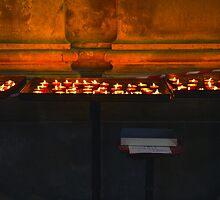 Venitian Church Candles by Zane Paxton