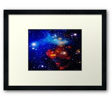 The Universe ~ Where Creation Happens Framed Print