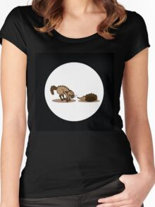 animal love Women's Fitted Scoop T-Shirt