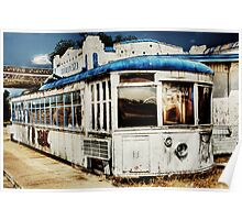 Trolley 373 Diner - West Texas Poster