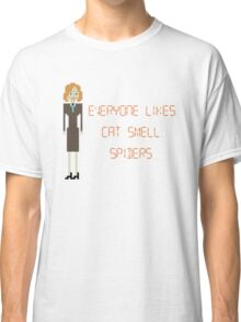 The IT Crowd – Everyone Likes Cat Smell. Spiders. Classic T-Shirt