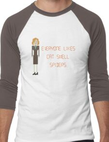 The IT Crowd – Everyone Likes Cat Smell. Spiders. Men's Baseball ¾ T-Shirt