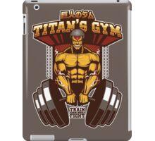 TITAN'S GYM - ARMOUR VER. iPad Case/Skin