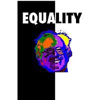 Bernie Sanders, Equality  Photographic Print