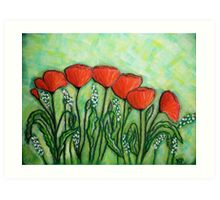 Poppies.. Art Print