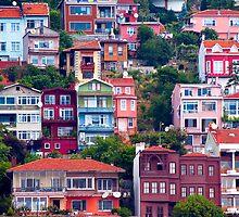 Istanbul houses by kumari