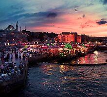 Istanbul sunset by kumari