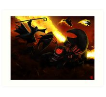 PART 23 - The Pawn Spawn Attacks! Art Print